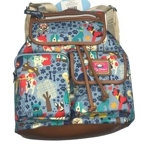 Lily Bloom Doggy Print Riley Backpack